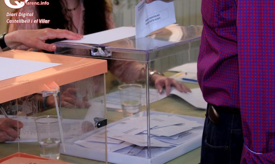 Els partits polítics de Castellbell i el Vilar, tanquen la campanya de les municipals'19.