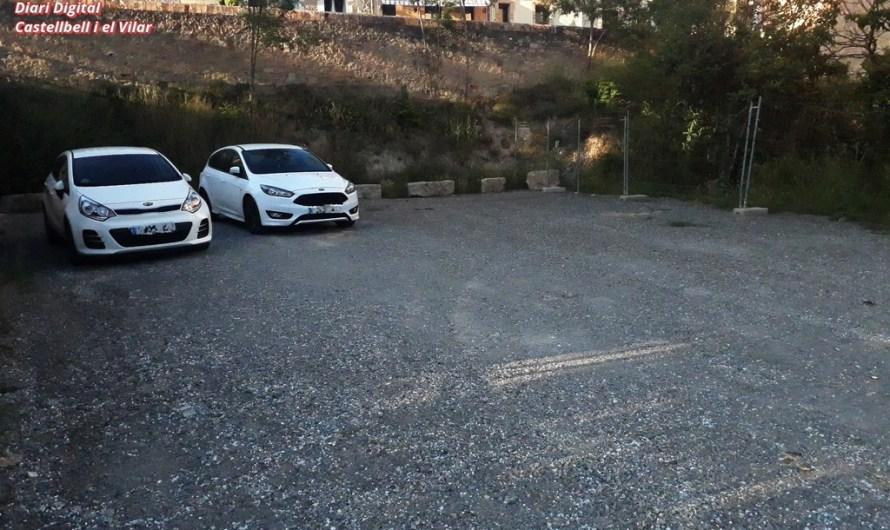 Estrena del nou aparcament, situat al Borràs.