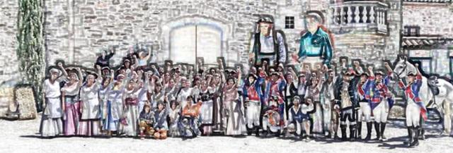 Èxit a les recreacions històriques de Mansuet Boxó a Castellbell i el Vilar