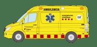Un motorista ferit crític en un xoc amb un turisme a Monistrol de Montserrat