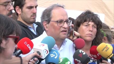 El Govern veta l'accés a Montserrat pels focs de Tarragona