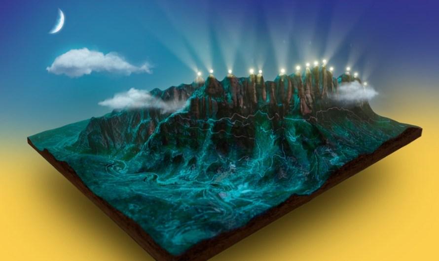 """El mal temps fa ajornar """"il·luminar les agulles de Montserrat"""""""