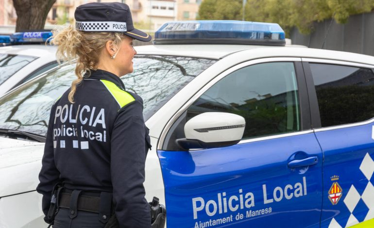 Arrestat un menor a Manresa per agredir a un home per robar-li una placa d'or