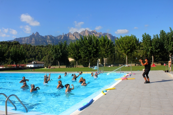 Les piscines diuen adéu a la temporada d'estiu