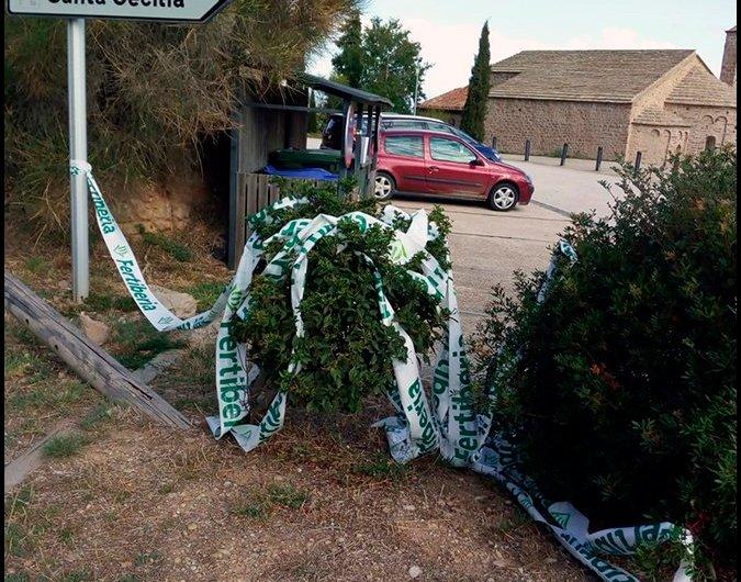 La Vuelta deixa brutícia a Montserrat.