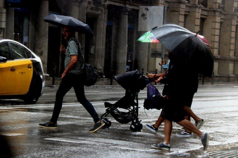 Protecció Civil activa l'Alerta del Pla INUNCAT per les intenses pluges previstes sobretot al litoral i prelitoral central