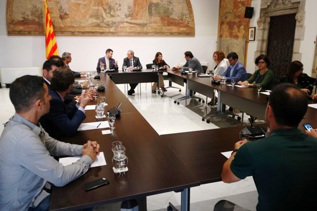 L'Assemblea Catalana de Municipis es reuneix amb Quim Torra