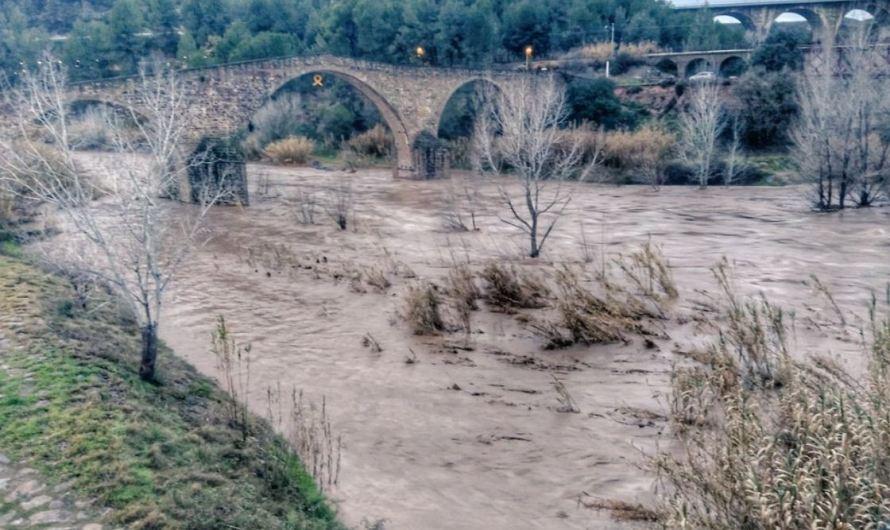 Aturada la captació d'aigua a La Bauma