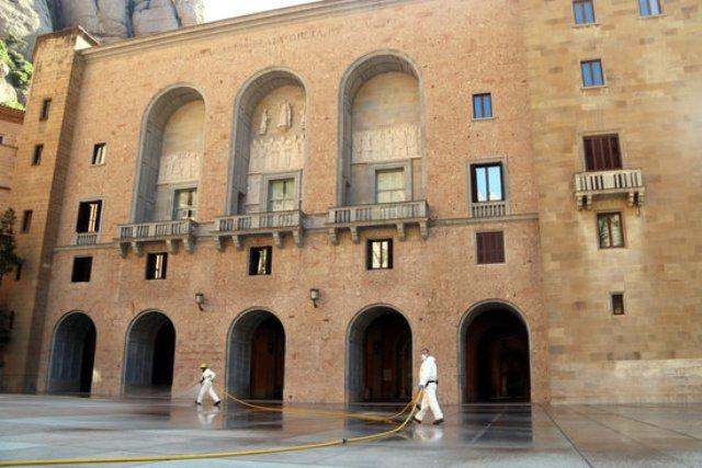 Montserrat no preveu obrir fins que Barcelona entri en fase 2