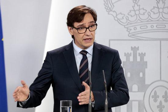 El Ministre Illa desmenteix la Consellera Vergés
