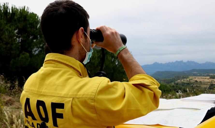 Els ADF alerten que l'augment de vegetació per les pluges i el confinament pot facilitar la propagació dels incendis
