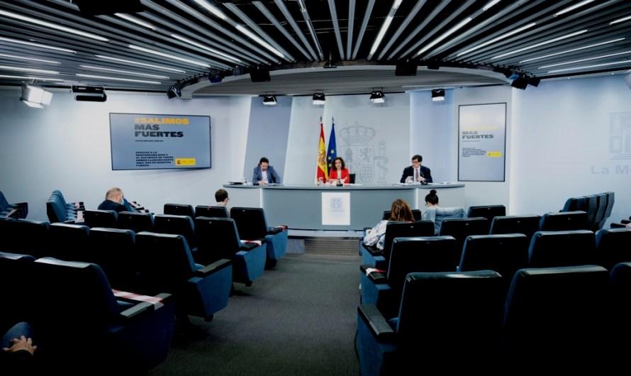 """El Consell de Ministres aprova el decret de """"nova normalitat"""" i descarta una recentralització de competències"""