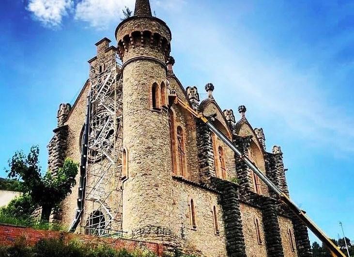 Castellbell i el Vilar dona continuïtat a les obres de rehabilitació de l'església de La Bauma
