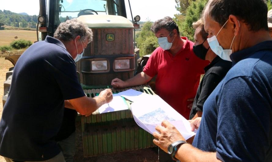 Preocupació a Castellfollit del Boix per la possible instal·lació d'un macro camp solar de 90 hectàrees
