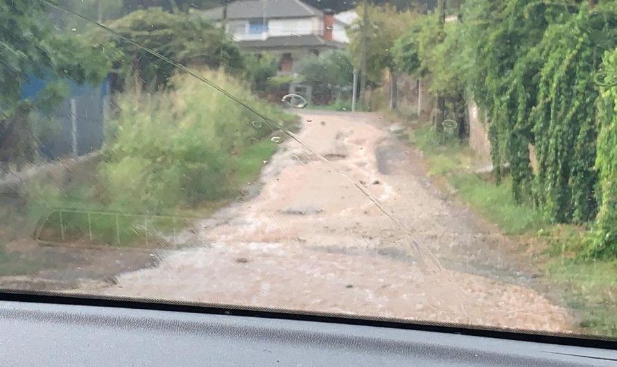 La pluja crea diverses afectacions a Castellbell i el Vilar