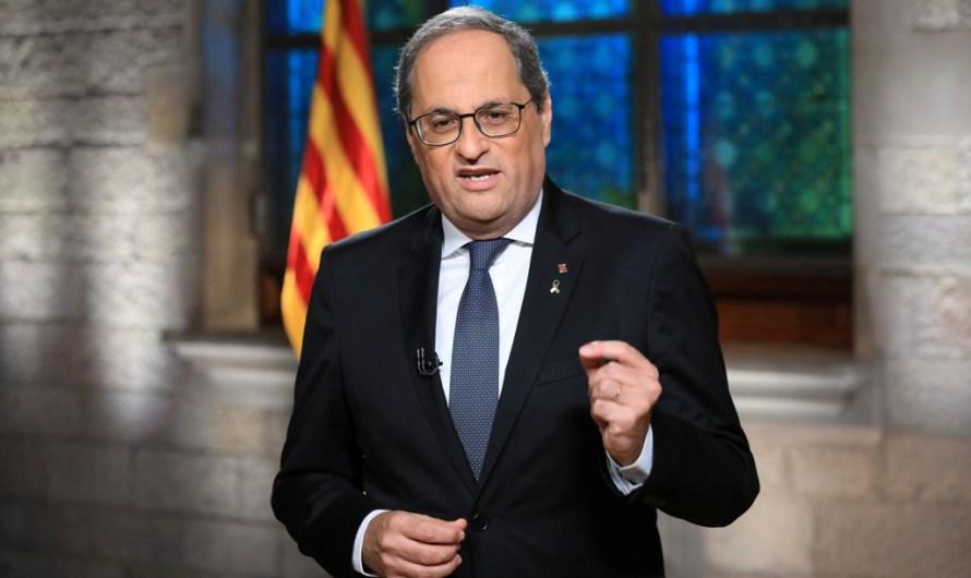 Quim Torra inhabilitat com a President de la Generalitat
