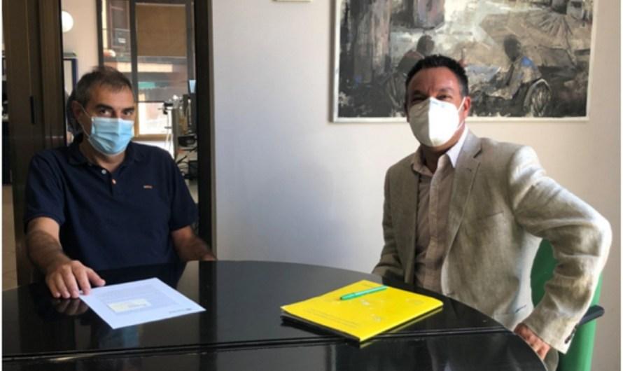 L' Alcalde de Monistrol es reuneix amb Correus