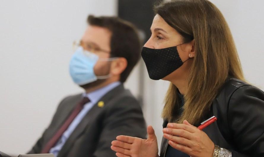"""El Govern demana l'estat d'alarma amb """"comandament únic"""" català per decretar un toc de queda entre les 23 i les 6 hores"""
