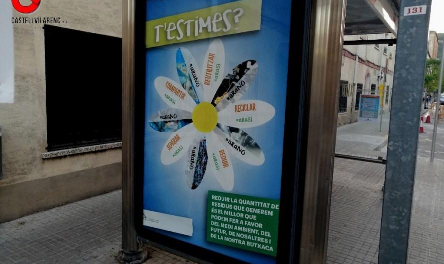 Campanya de conscienciació pels residus.
