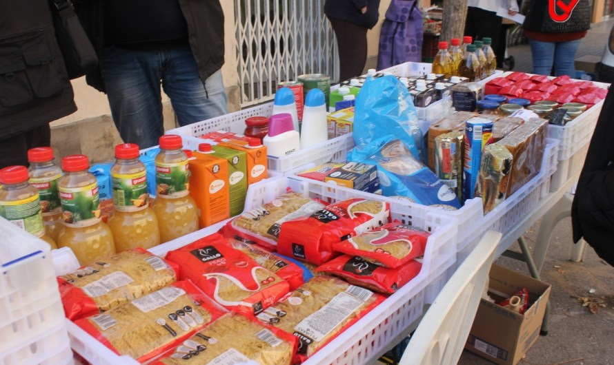 Castellbell i el Vilar recapta 1576kg d'aliments