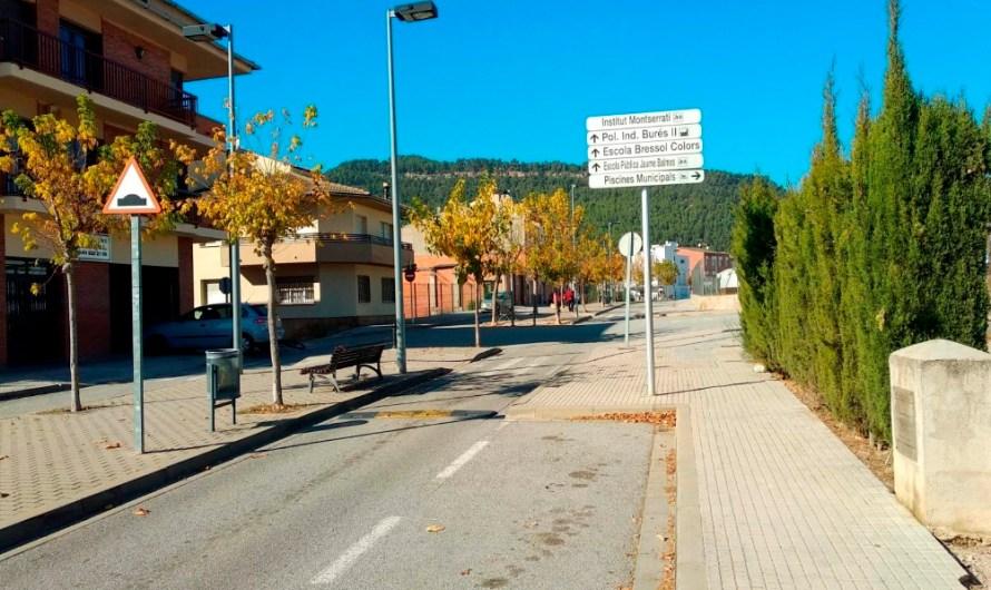 L'Ajuntament de Castellbell i el Vilar ultima les obres per ampliar l'Avinguda
