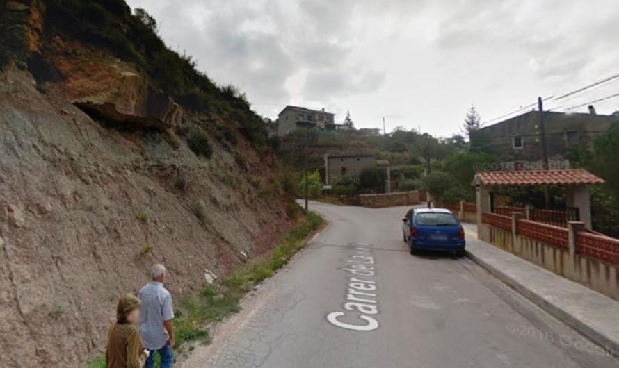 L'Ajuntament de Castellbell i el Vilar arranjarà el talús del carrer de La Riera al febrer