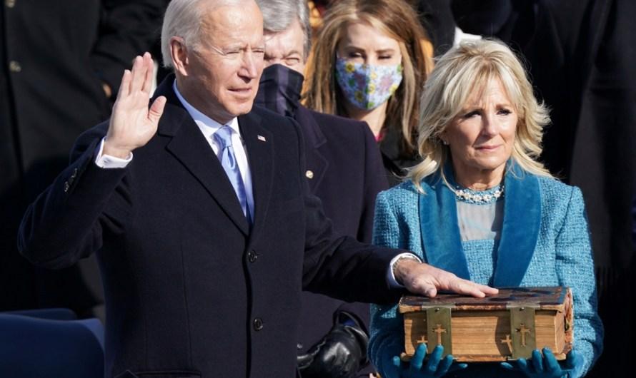 Biden pren possessió com a 46è president dels Estats Units