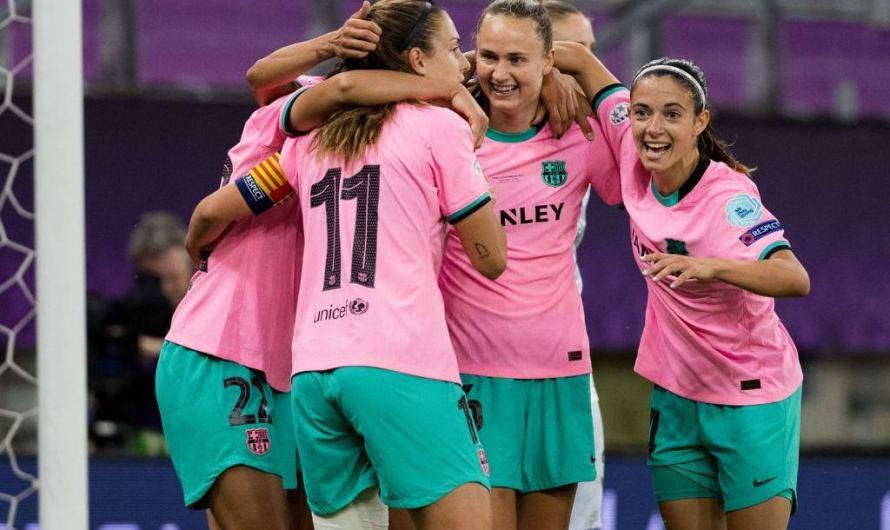 """El Barça femení entra a """"l'Olimp dels déus"""" d'Europa"""
