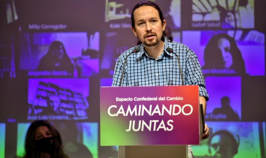 El líder de Podem Pablo Iglesias, deixa la política