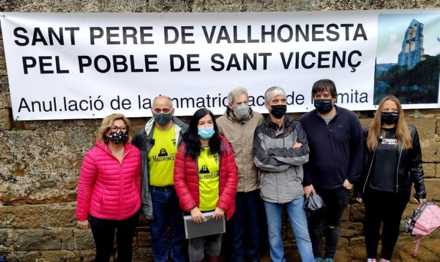 L'Ajuntament de Sant Vicenç de Castellet exigeix al Bisbat de Vic la cessió de Sant Pere de Vallhonesta
