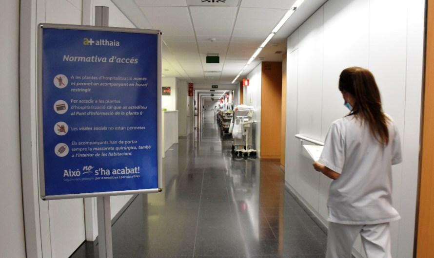Althaia restringeix l'horari d'acompanyament dels pacients hospitalitzats a causa de la situació epidemiològica al territori