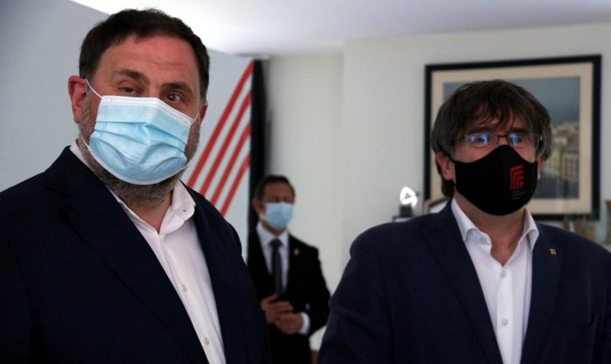 Titulars dels diaris d'avui dijous 8 de juliol: retrobament Puigdemont-Junqueras a les portades
