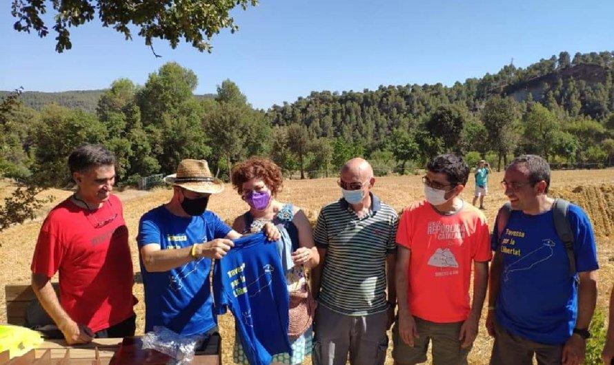 Jordi Turull camina per Castellbell i el Vilar