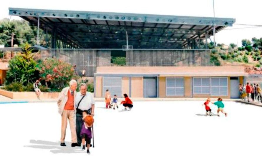 L'Ajuntament de Castellbell i el Vilar aprova el projecte per tancar la pista poliesportiva municipal