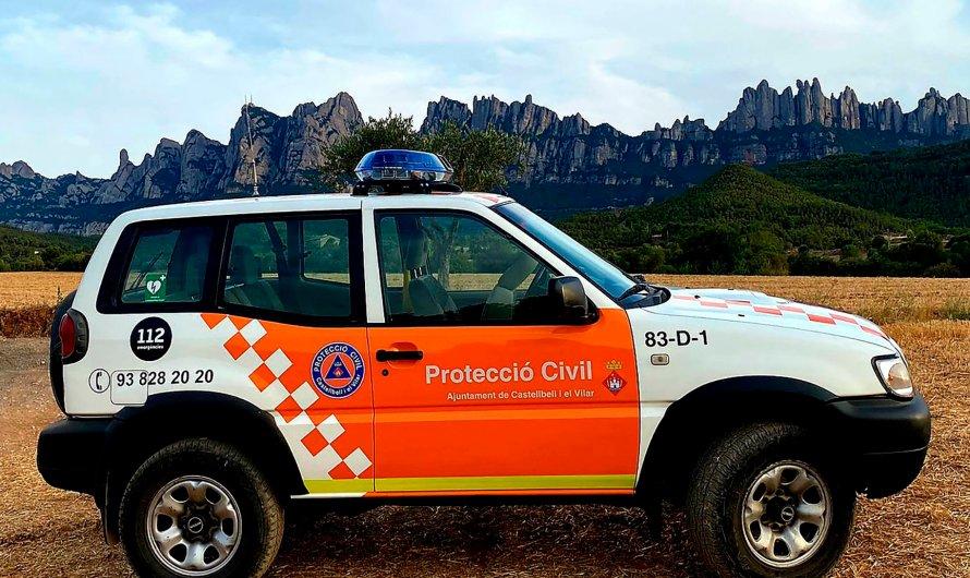 Castellbell i el Vilar compta amb un nou vehicle per a l'Associació de Voluntaris de Protecció Civil