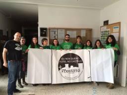 Profesores e alumnos do IES Xesús Taboada Chivite