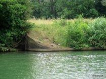 Pont St Pierre sunken mooring