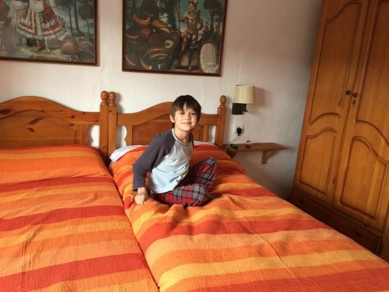 Raj bedroom