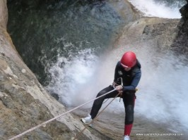 descenso de barrancos - Casteret