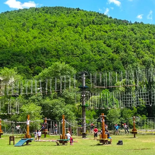 Parque de aventura Ordesaventura en Fiscal