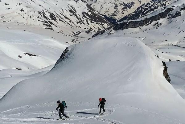 curso-esqui-travesia. Casteret guías de montaña