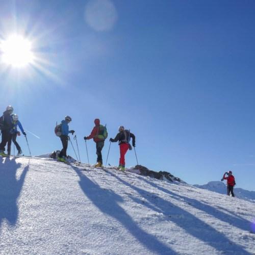 esquí de montaña en portalet