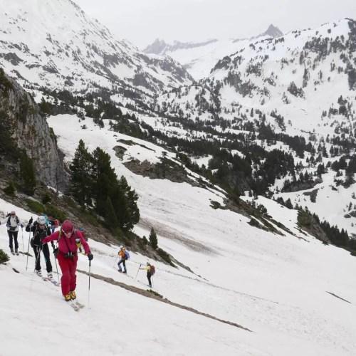 Esquí de montaña en Benasque. Vuelta al Salvaguardia