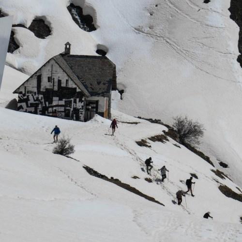pico Musales con esquís