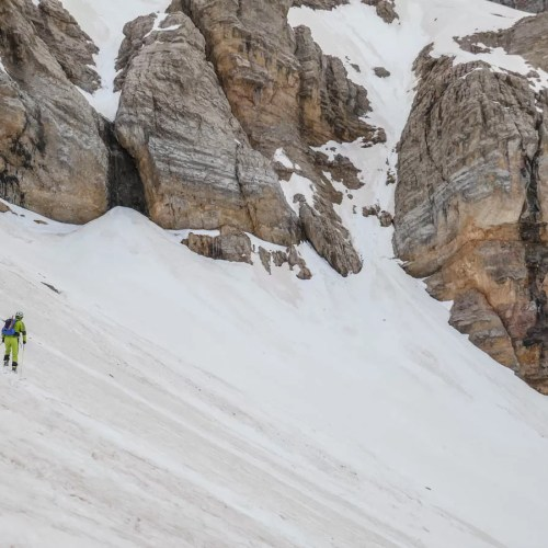 Esquí de montaña en Valle de Tena. Tendeñera por Ripera