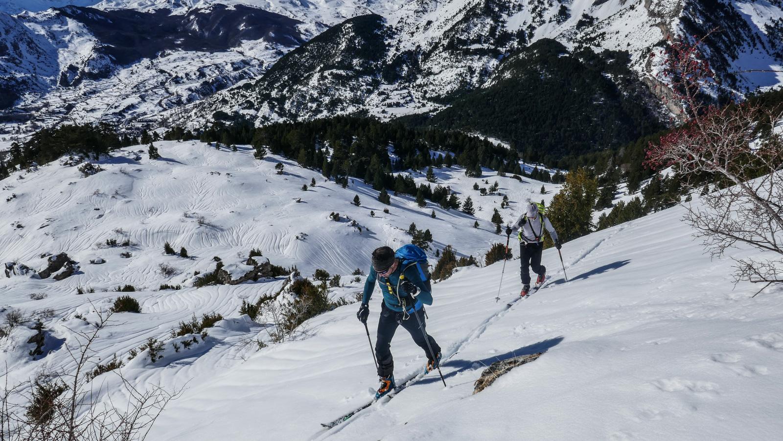 cursos-de-esquí-de-travesía