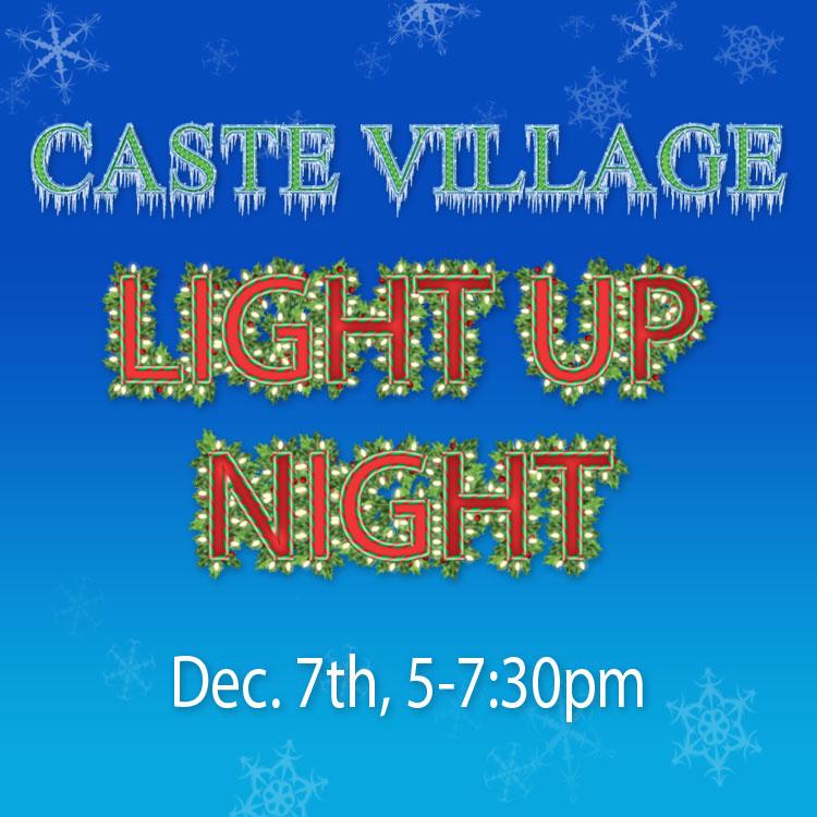 Caste Village Light Up Night