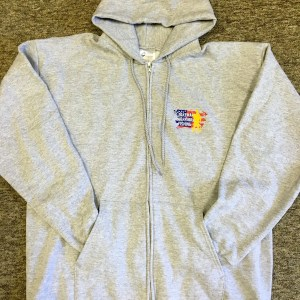 TWF Grey full zip