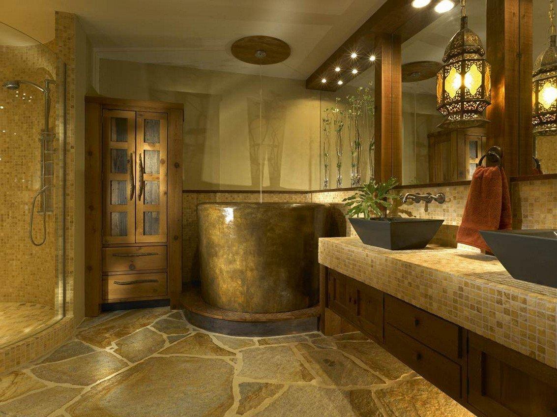 Decorating Your Rustic Bathroom