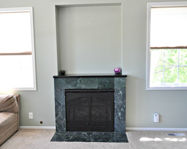 Before Fireplace Remodel for Whole House Renovation